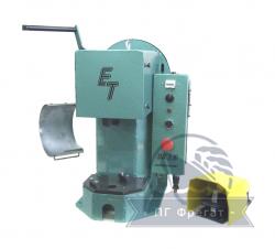 Настольный кривошипный электрический пресс с усилием ПК-1.5 (ПК-1.5М), Настольный кривошипный электрический пресс