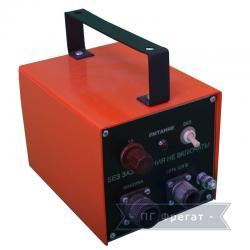 Блок питания переносной машины Смена-2М (общий вид)