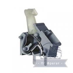 Клемма пружинная для печатного монтажа одинарная КПП-2,5-1 фото 1