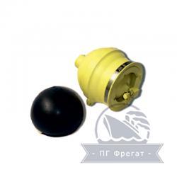 Пневмогидроаккумулятор мембранный ПГАМ-4-5 - фото