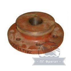 Полумуфта ведомая 6-пальцевая ПКС (электрический привод со шкивом) фото 1