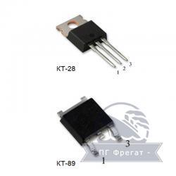 Мощный вертикальный n-канальный МОП-транзистор КП780А  фото 1