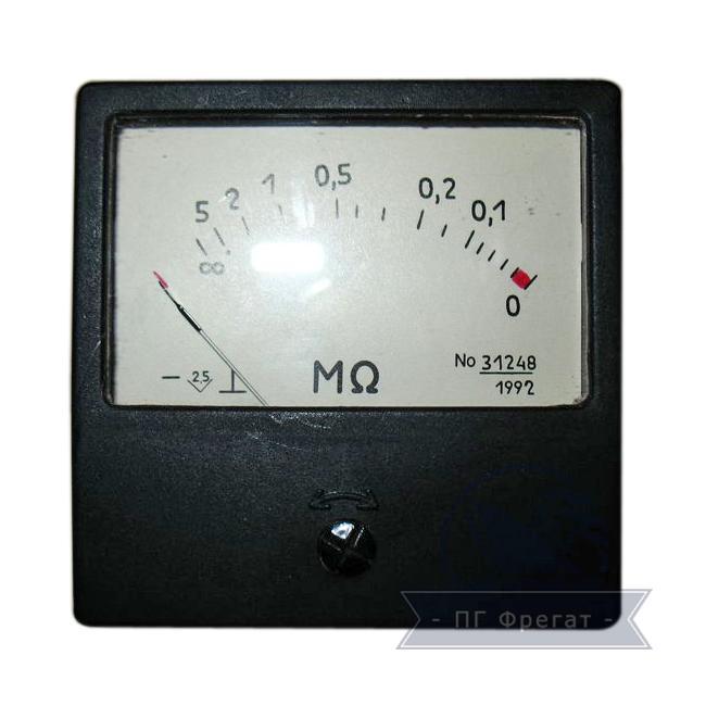 Омметр М419 - фото