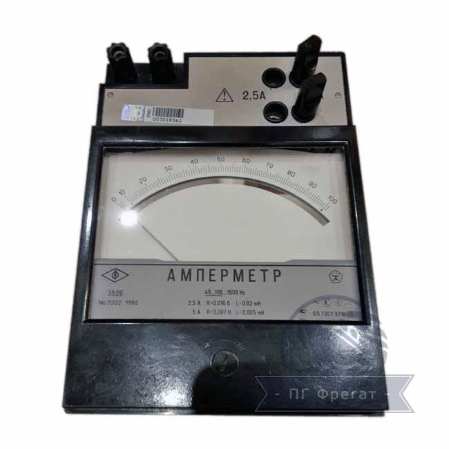 Амперметр Э526 - фото
