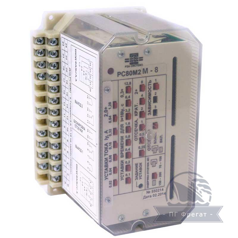Реле РС80М2 с расширенными функциями фото №1