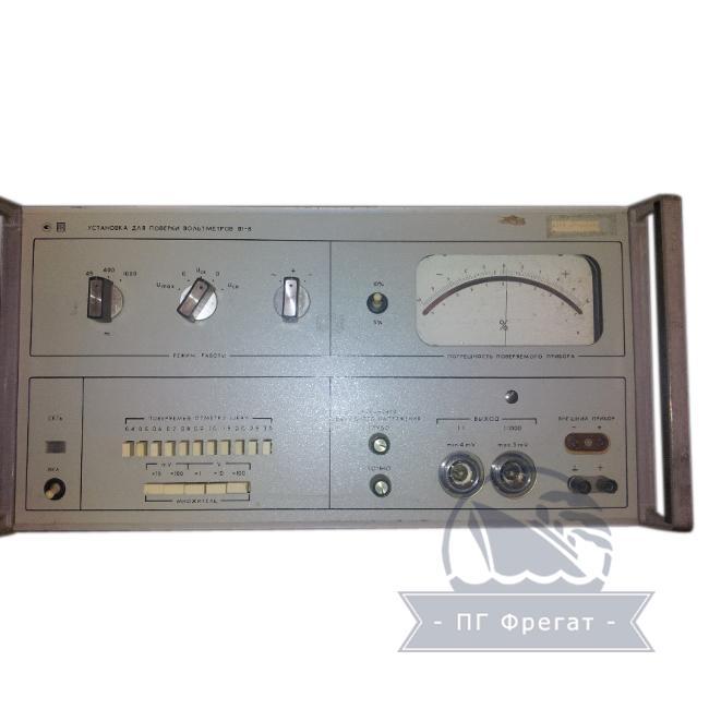 Установка для проверки вольтметров В1-8 фото №1