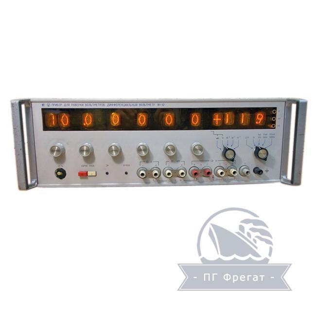 Прибор для поверки вольтметров В1-12 фото №1