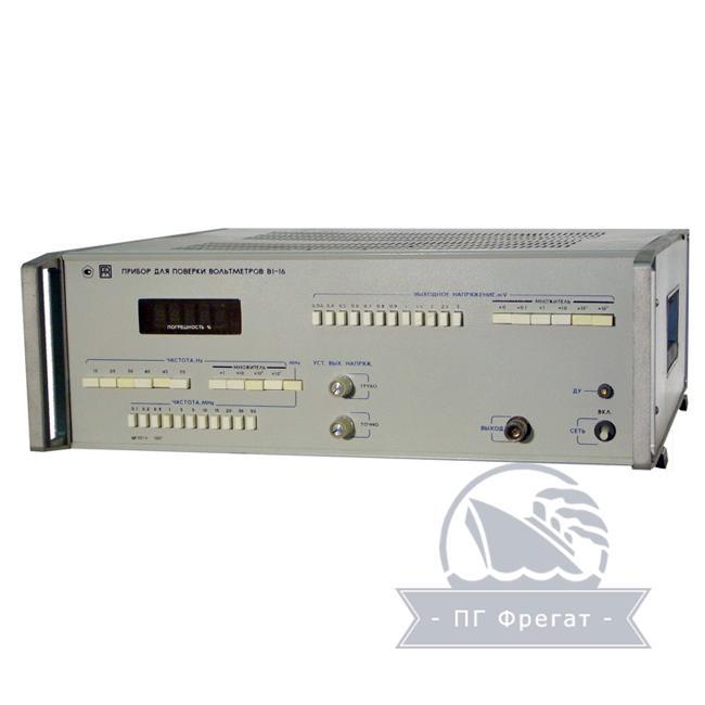 Прибор для проверки вольтметров В1-16 фото №1