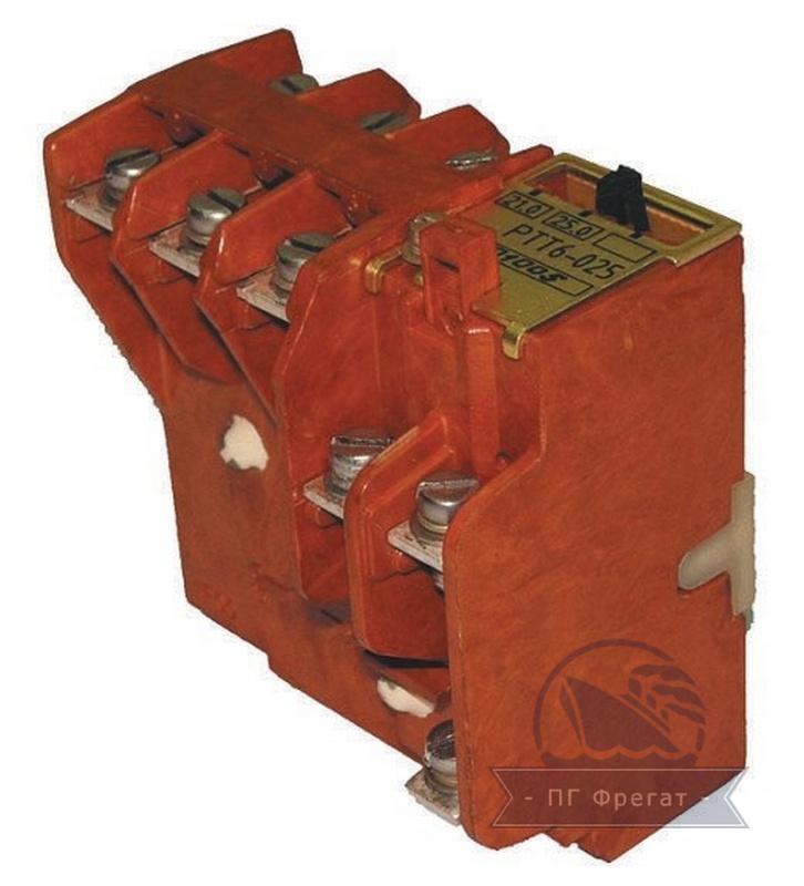 Реле электротепловые токовые РТТ6 фото №1