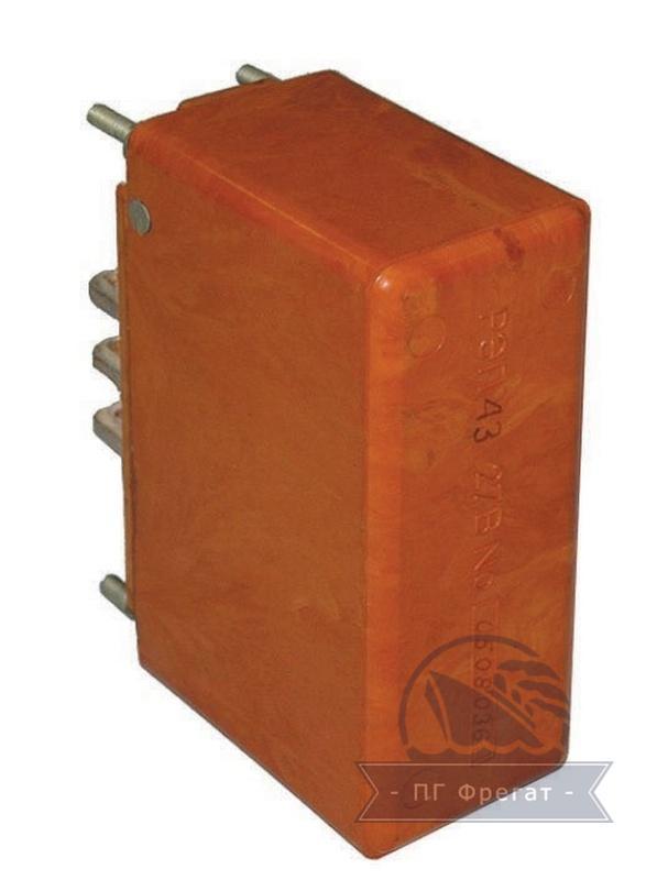 Реле электромагнитные двухстабильные РЭП43-300 фото №1