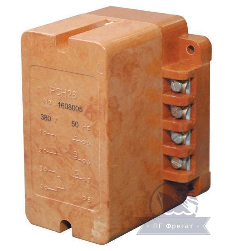 Реле контроля трехфазного напряжения типа РСН28 фото №1