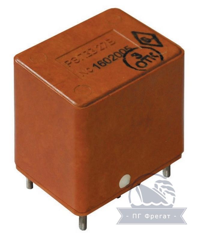Реле электромагнитное двустабильное РЭП33 фото №1