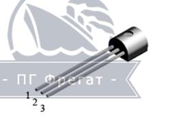 Транзистор n-канальный МОП КП523А фото №1