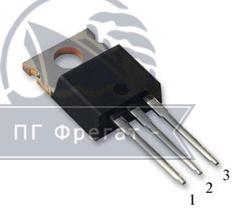 Мощный вертикальный n-канальный МОП-транзистор КП723Б  фото №1