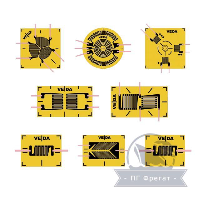 Тензорезисторы КФ5 фото №1