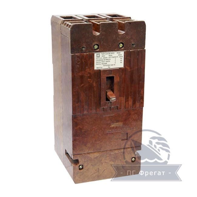 Автоматический выключатель А3726 фото №1