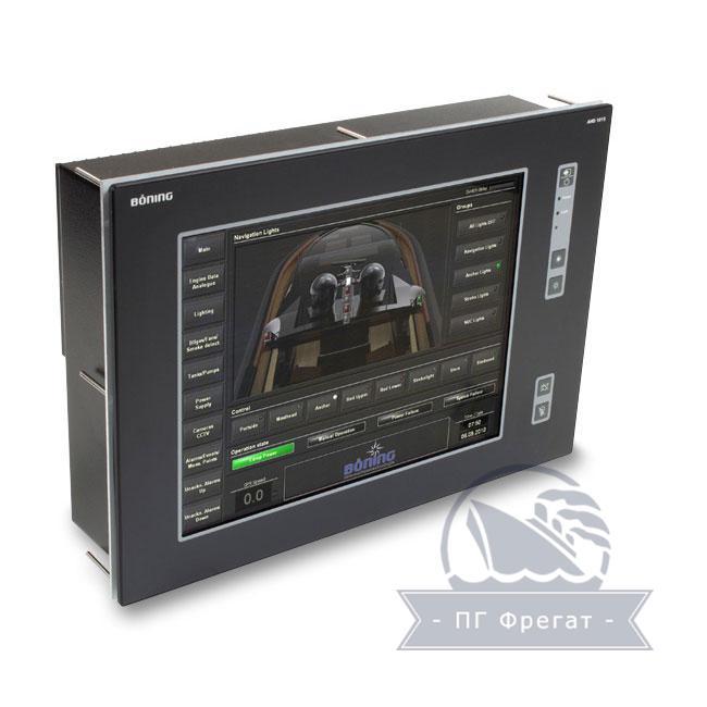 Система контроля сигнализации AHD 1015TC + AHD-DPS02 фото №1