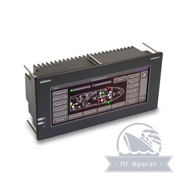 Система контроля сигнализации AHD 880TC + AHD-DPS022 фото №1