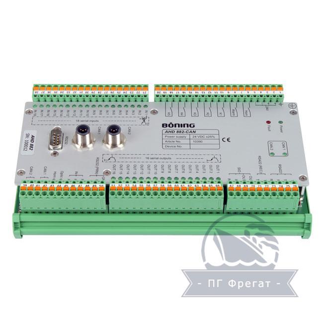 Система контроля сигнализации AHD 882 + AHD 880TC фото №1