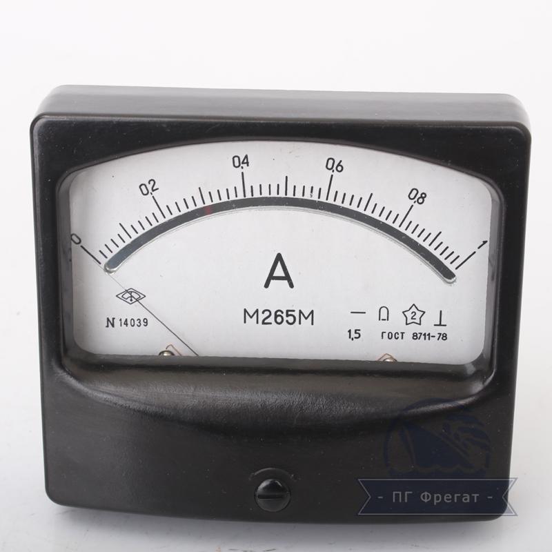 Амперметр М265 фото №1