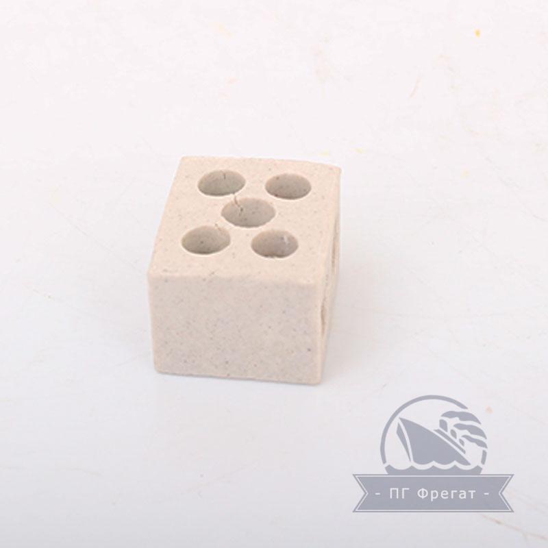 Керамические термостойкие клеммные колодки 2х2,5 фото №3