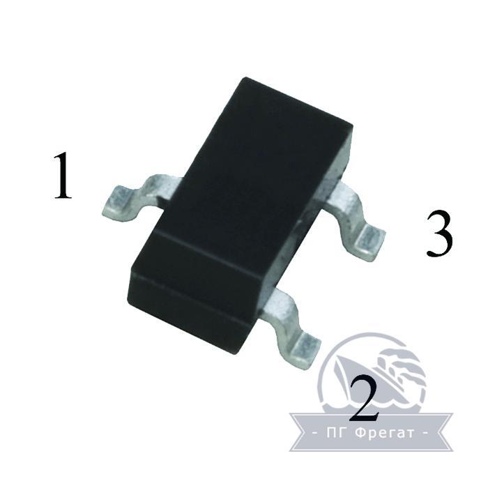 Транзистор КТ368А9 фото №1