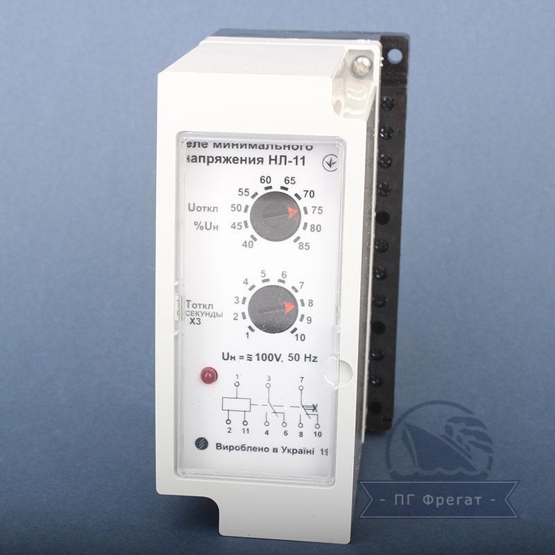 Реле минимального напряжения трёхфазного тока НЛ-11 фото №1