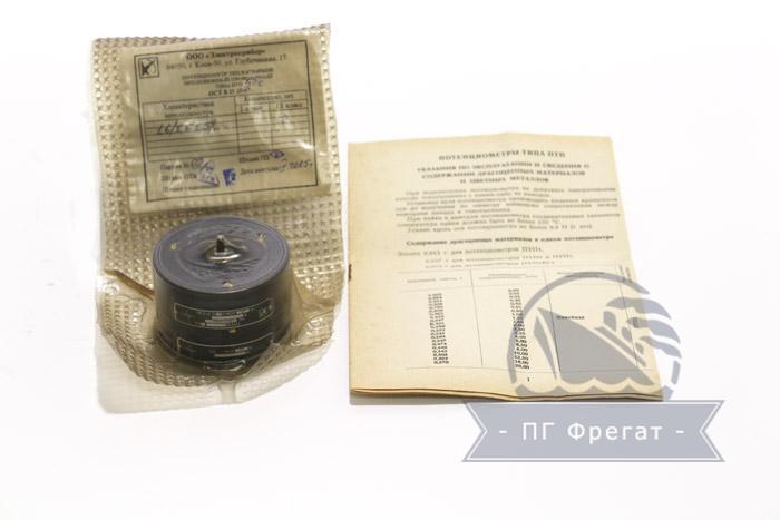 Потенциометр ПТП-52 фото №1