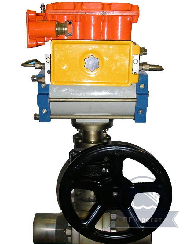 Привод пневматический для крана типа ППК-1  фото №1
